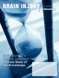 Cover: Brain Injury as a Chronic Condition: Current State of Knowledge